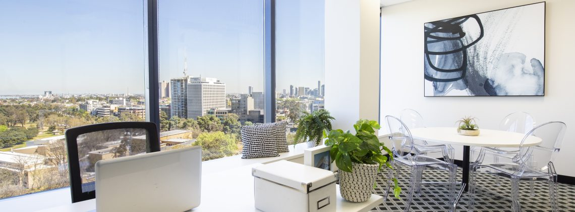 St Kilda Rd Towers Offices