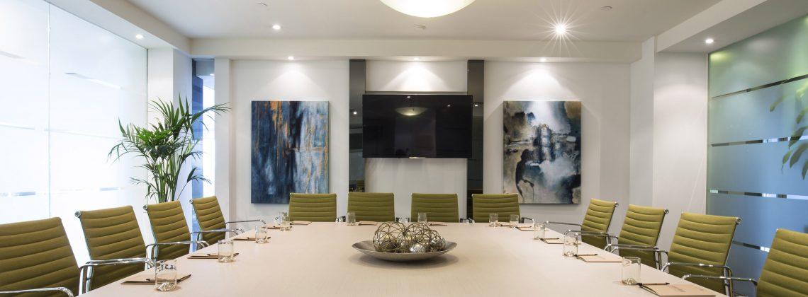 St Kilda Rd Towers Boardroom