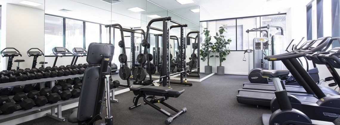 Gym at Whitehorse Towers