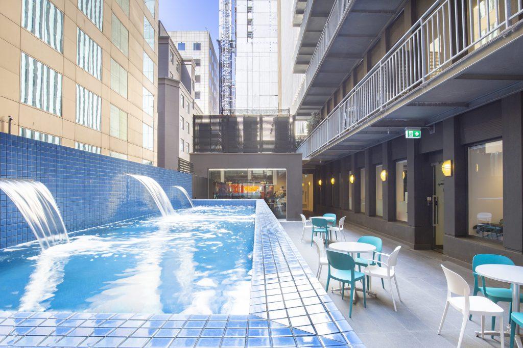 Collins Street Tower pool